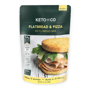 Keto Flatbread and Pizza Bread Mix