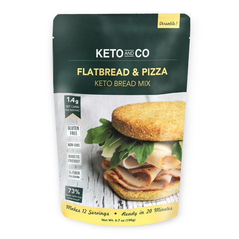 Keto Flatbread and Pizza Crust Baking Mix