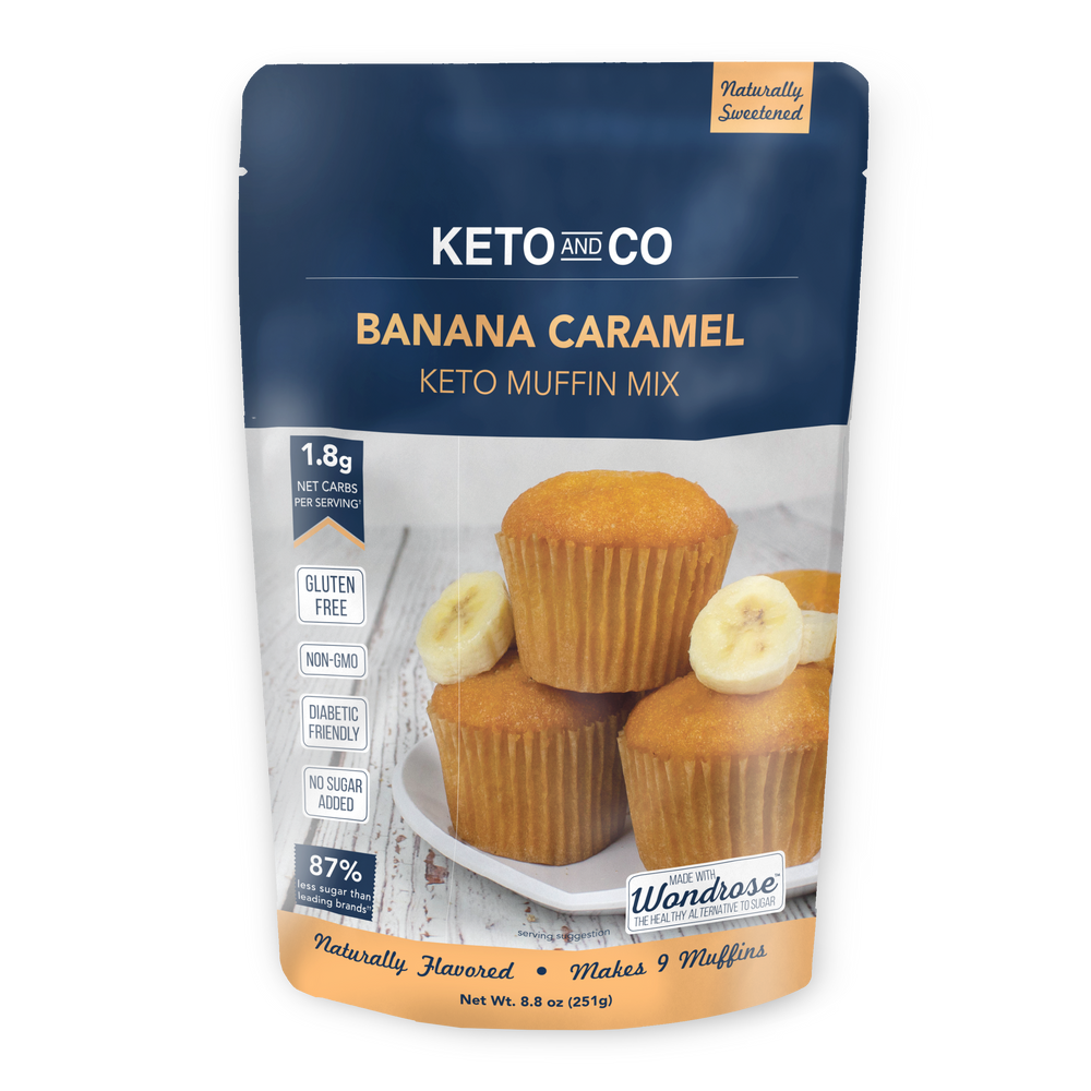 Keto Banana Caramel Muffin Mix