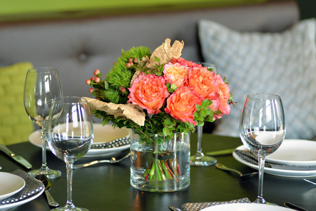 Hosting a dinner party?  Make it magical with fabulous flowers!