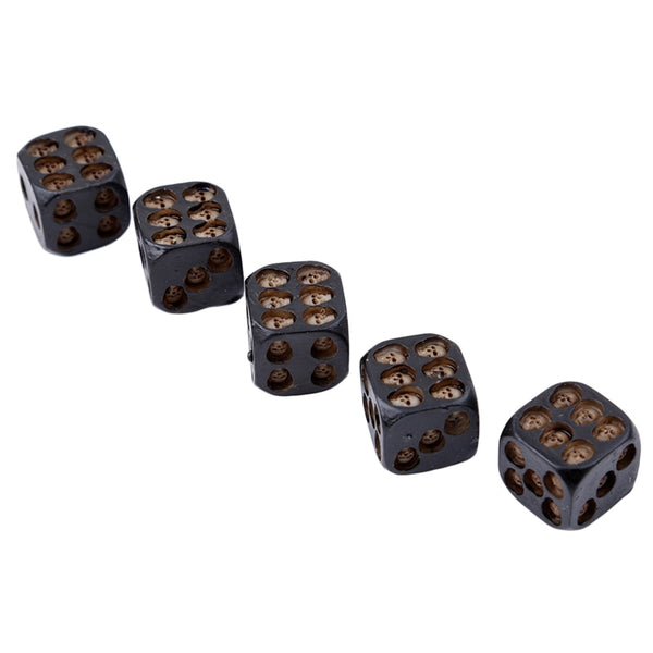 Unique Skull Deluxe Dice