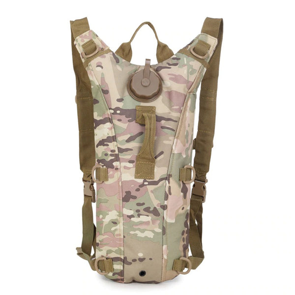 Military Camo Hydration Water Backpack