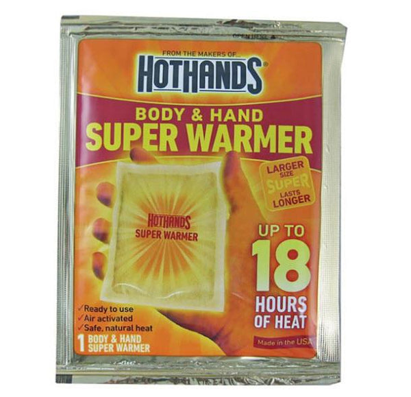 Hand Warmers Air Activated Instant Heat Packs