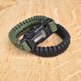 5 in 1 Survival Paracord Bracelet -TRAVEL KITS | TravDevil - 7