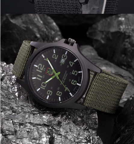Military Style Army Watch