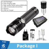 Rechargeable LED Flashlight
