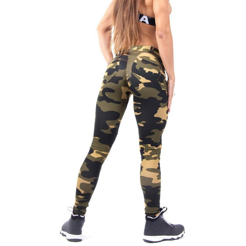 Army Camo Workout Leggings