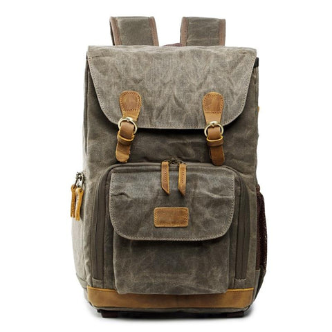 Deluxe Vintage Photographers Backpack