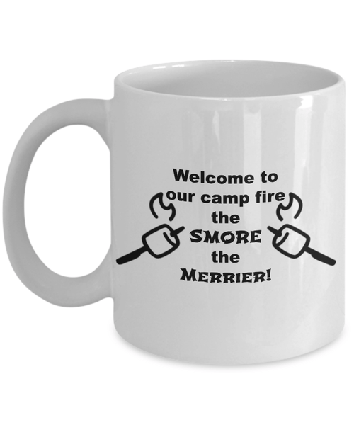Welcome to our camp fire 11oz mug