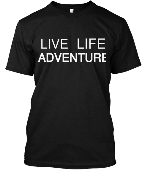 Live Life Adventure -tees | TravDevil - 1