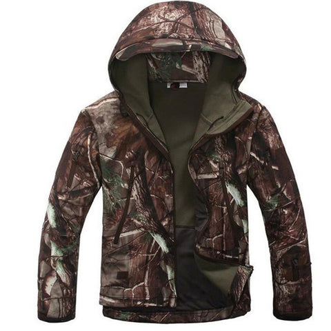 High Quality Mens Outdoor Hunting Camping Waterproof Jacket