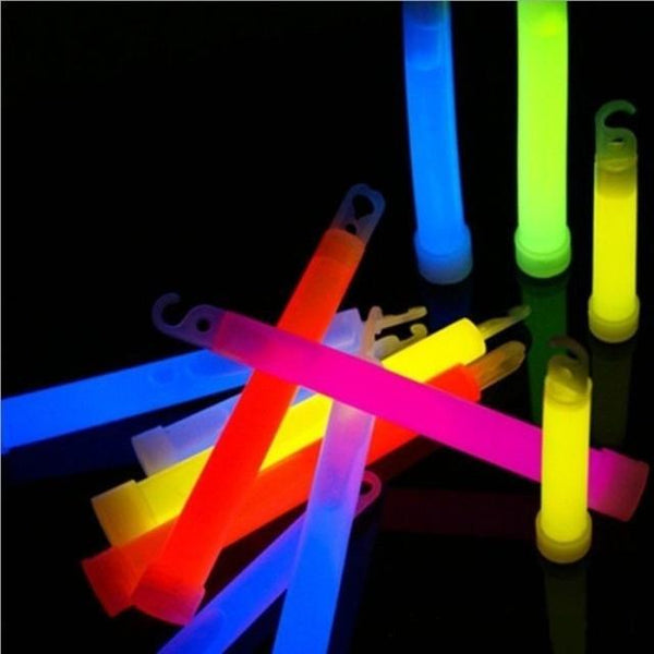 Ultra Bright Light Sticks 6 Inch (Pack of 10)