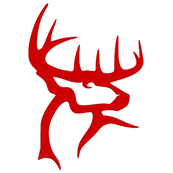 Hunting Deer Vinyl Decal 8 Colors Available