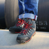 Waterproof leather Shoes Climbing & Fishing Shoes -FOOTWEAR | TravDevil - 9