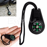 Mini Compass Backpack Bag Strap Charm Sport -OPTICS | TravDevil - 2