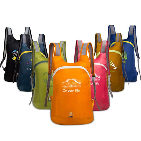 Trekking& Hiking Ultra-light Tourist Backpacks -DAYPACKS | TravDevil - 1