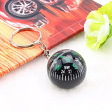 Ball Compass Keychain Liquid Filled Compass For Hiking Camping Travel -OPTICS | TravDevil - 3