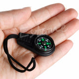 Mini Compass Backpack Bag Strap Charm Sport -OPTICS | TravDevil - 4