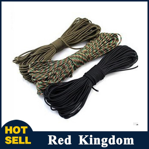 Parachute Cord Lanyard Rope Mil Spec Type III 7 Strand Climbing Camping survival equipment -TRAVEL KITS | TravDevil - 1
