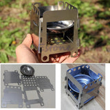 Outdoor Cooking Camping Folding Wood Stove -STOVES | TravDevil - 6