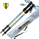 Ultra-light Walking Stick Adjustable Hiking Alpenstock Carbon Fiber shooting -Trekking Poles | TravDevil - 12