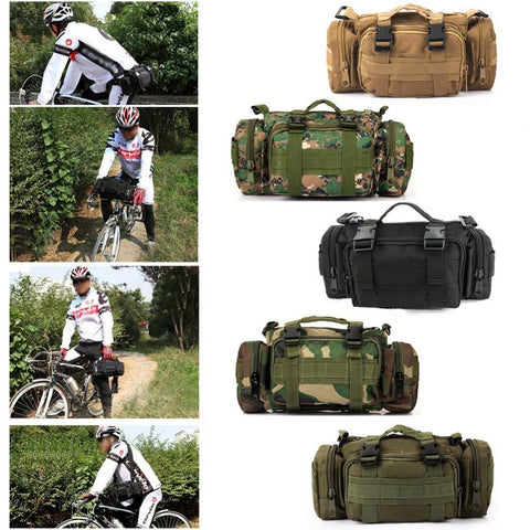 Newest Outdoor Military Tactical Waist Pack -WAIST PACKS | TravDevil - 1