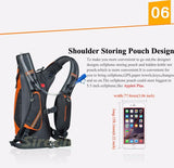 ANMEILU Waterproof Sports Backpack Rucksack + Water Bag -HYDRATION PACKS | TravDevil - 19