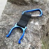 Buckle Hook Holder Clip For Camping Hiking -TRAVEL KITS | TravDevil - 6