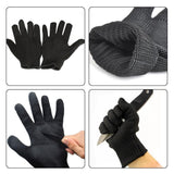 1 Pair kevlar Gloves Proof Protect Stainless Steel Wire -TRAVEL KITS | TravDevil - 13