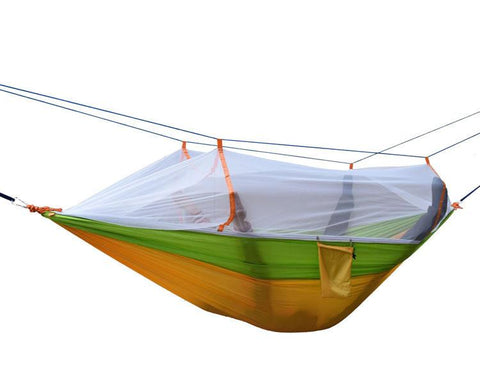 Double Hammock  With Mosquito Net -HAMMOCK | TravDevil - 1