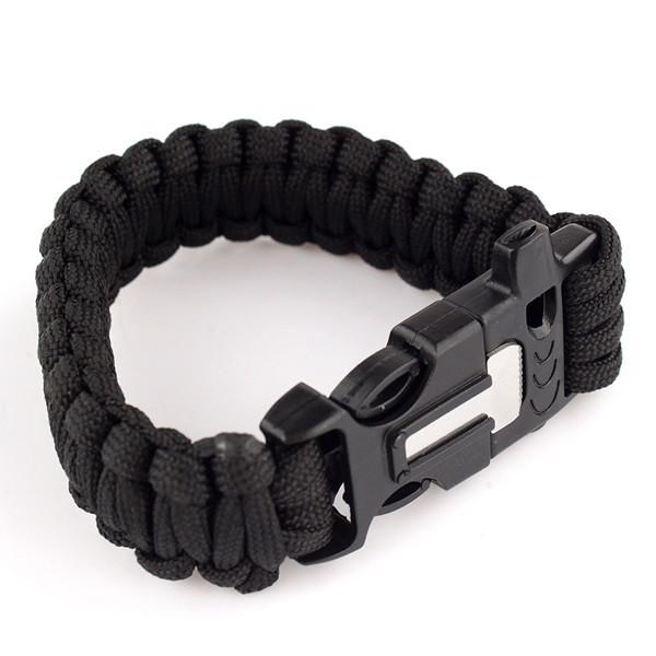 5 in 1 Survival Paracord Bracelet -TRAVEL KITS | TravDevil - 8