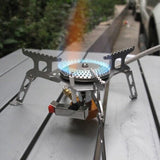 16 * 16 * 5cm Portable Outdoor Folding Gas Stove -STOVES | TravDevil - 4