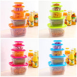 Square Food Storage Box -FOOD STORAGE | TravDevil - 3