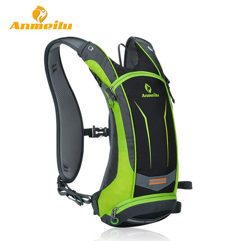 ANMEILU Waterproof Sports Backpack Rucksack + Water Bag -HYDRATION PACKS | TravDevil - 1