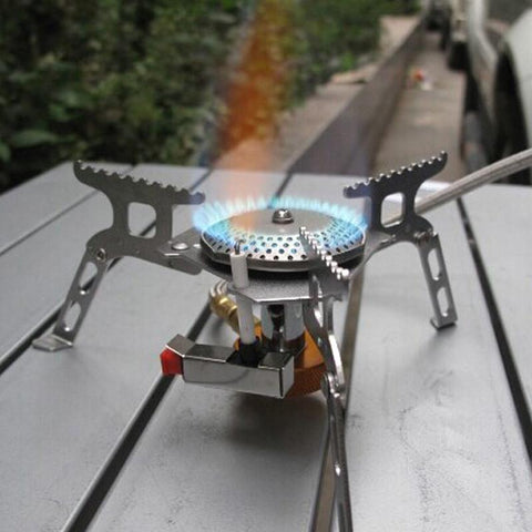 16 * 16 * 5cm Portable Outdoor Folding Gas Stove -STOVES | TravDevil - 1