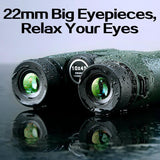 Binoculars Professional Hunting Telescope Zoom High Quality Vision -OPTICS | TravDevil - 14