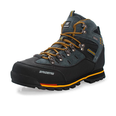 Waterproof leather Shoes Climbing & Fishing Shoes -FOOTWEAR | TravDevil - 1