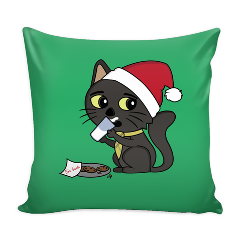Sir Meows Christmas Pillowcase