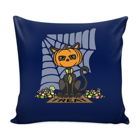 Sir Meows Halloween Pillowcase