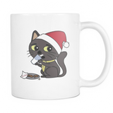Sir Meows Christmas Mug