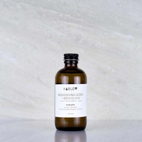 Body & Bath Elixir in Escape by Harlow Skin Co. Made in Vancouver, Canada