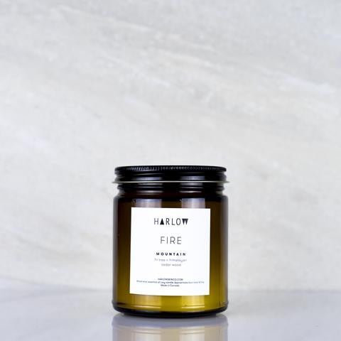 Mountain Candle by Harlow Skin Co. Made in Vancouver, Canada