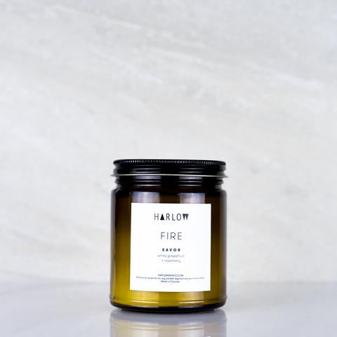 Savor Candle by Harlow Skin Co. Made in Vancouver, Canada