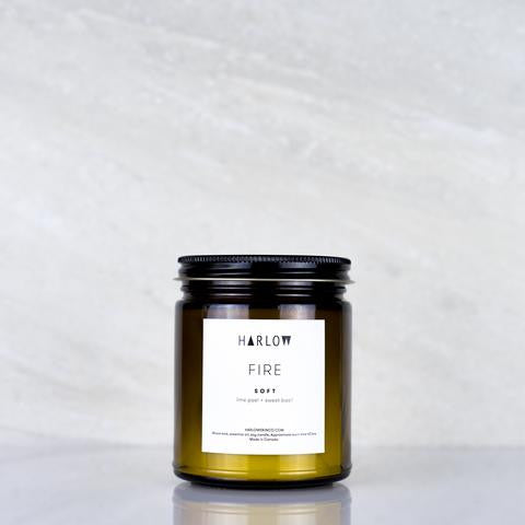 Soft Candle by Harlow Skin Co. Made in Vancouver, Canada