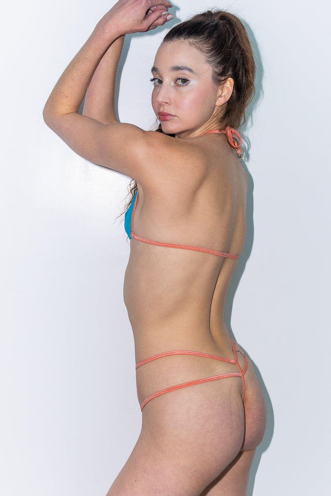 $EX BB DOUBLE T BACK THONG