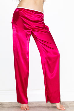 Gleamy Dreamy Satin Pants