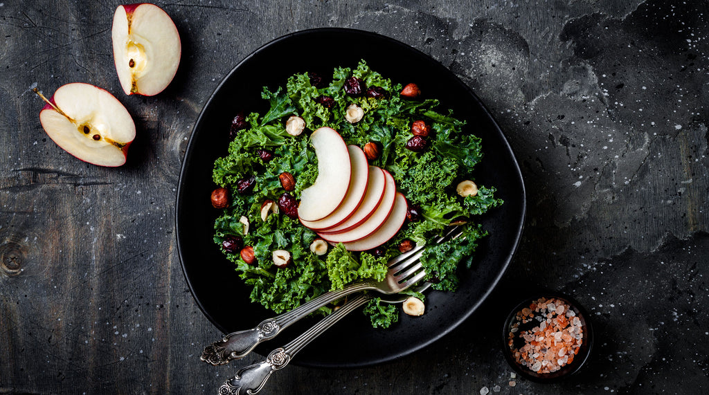 Winter Apple and Kale Salad