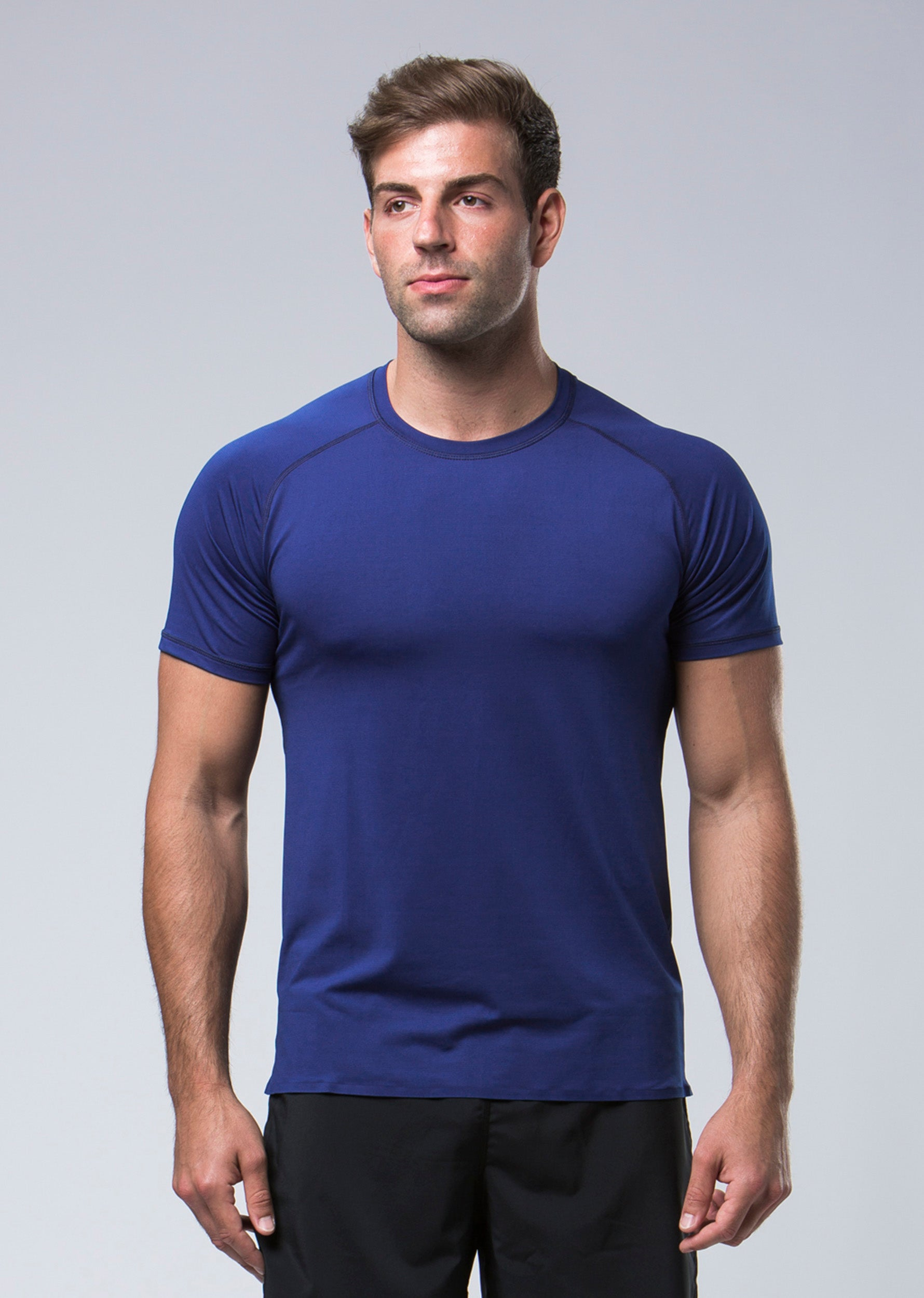 Elevate Technical Tee - Navy
