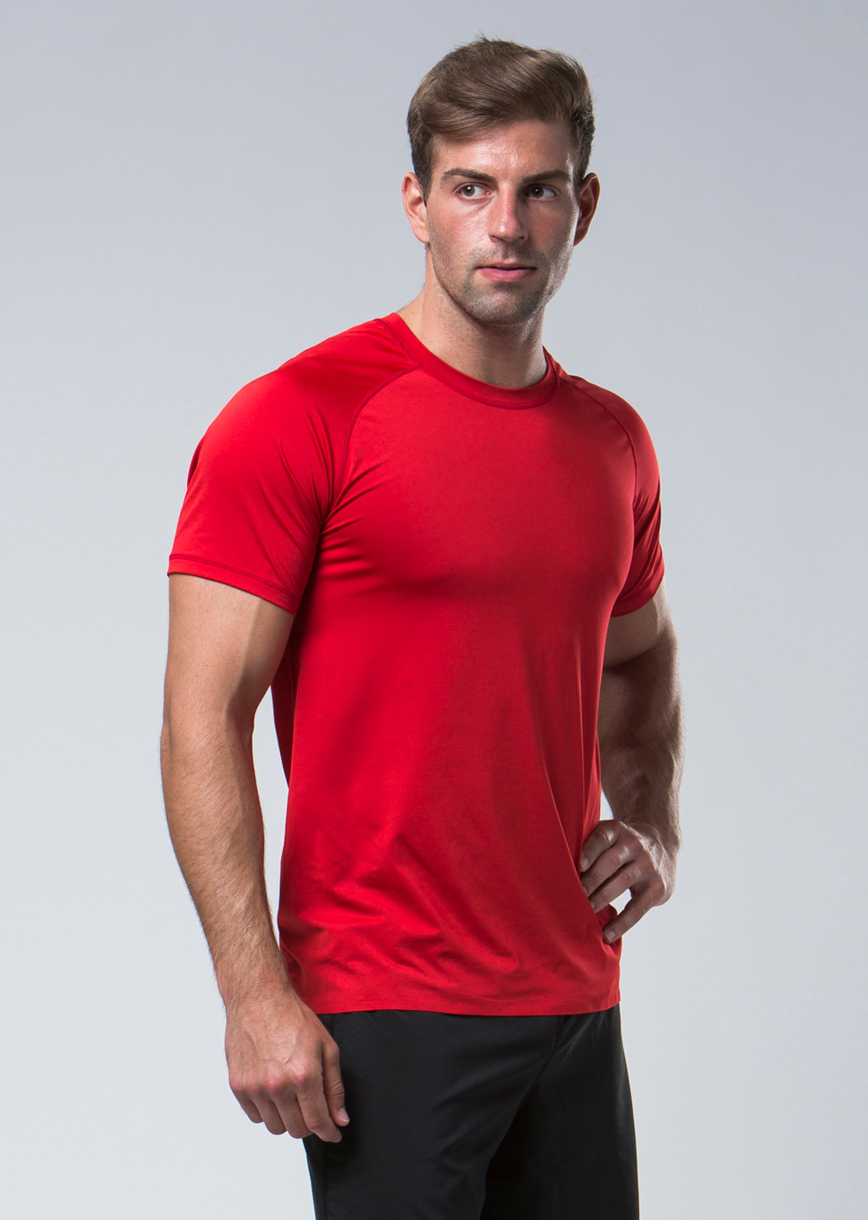 Elevate Technical Tee - Red