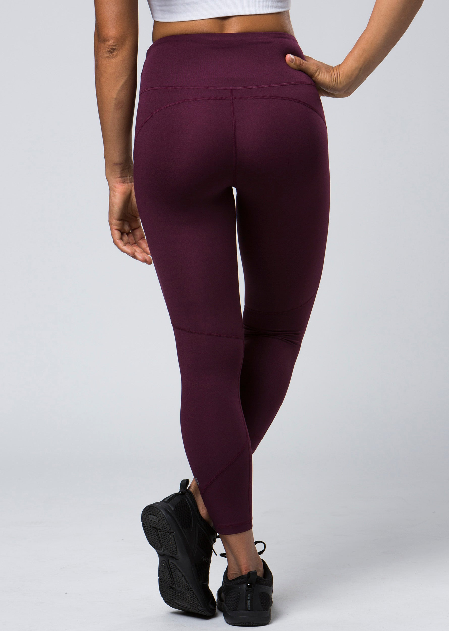 Excel 7/8 Legging - Burgundy